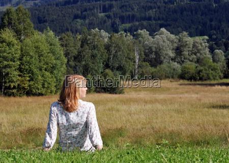 kobieta womane baba relaks pole dzielic