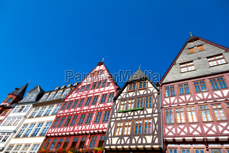 half timbered houses in frankfurt am