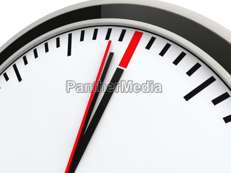 nieprzekraczalny czas zegara 3d