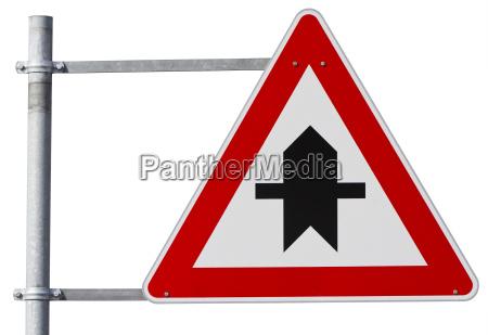 niemiecki znak prawa do drogi sciezka
