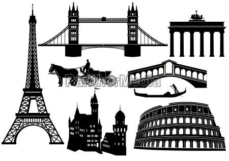 stolice i atrakcje w europie