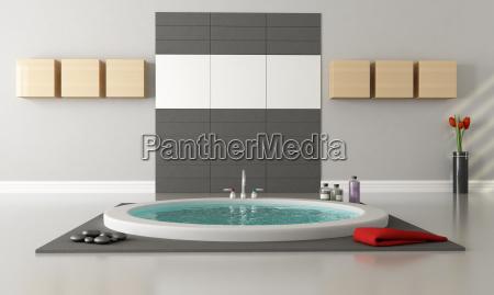 minimalistyczny luksusowa lazienka