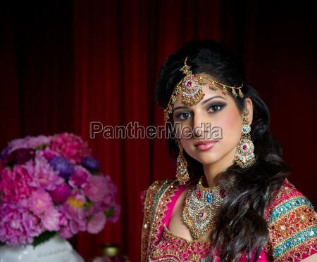 beautiful indian bride