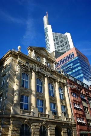 lawka bank frankfurt miejskich styl budowy