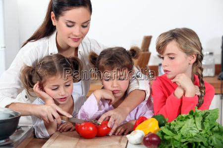 matka i jej corki co salatka