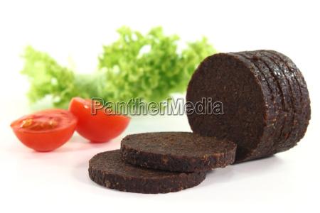 pieczywo chleb pomidor pomidory koryta plastry