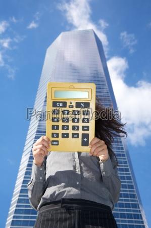 calculator with blank screen