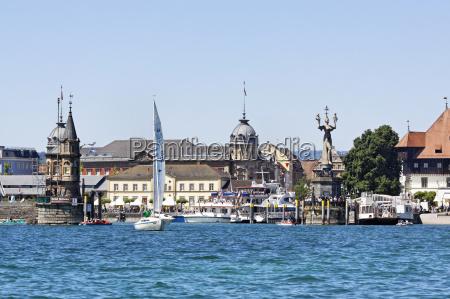 miasto grod town statula port jezioro