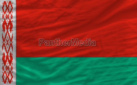 pelna falistej flagi narodowej bialorusi na