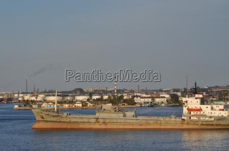 the port of havana in cuba