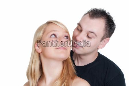 romantyczny uczucia czulosc partnerstwo uscisk liebhaben