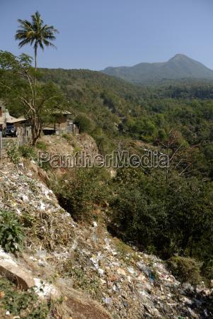 zanieczyszczenia myanmar birma wysypisko smieci gora