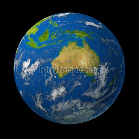 niebieski spolecznosc zielony australia piaty kontynent