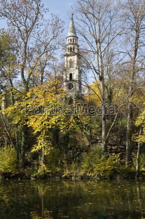 park kaplica niemcy republika federalna stuttgart