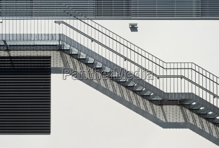 metal stairs abstraction