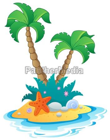 obraz z mala wyspa 1