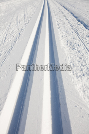 trasy zima narty narciarstwo jezdzic na