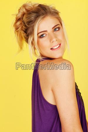 attractive blond female