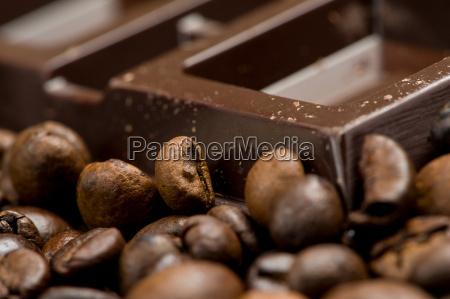 czekolada i kawa