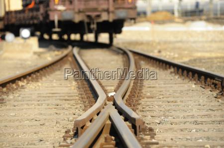 miekkie kolejowe tor libar siec kolejowa