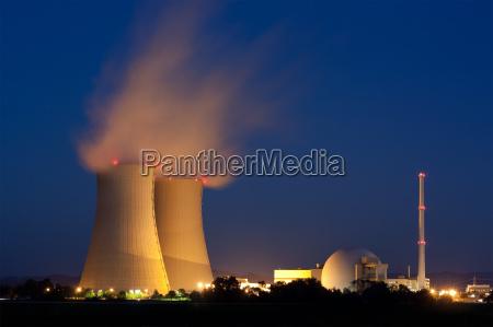 grohnde elektrownia jadrowa w dolnej saksonii
