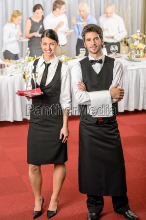 catering kelner kelnerka impreza biznesowa