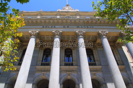 bolsa de madrid stock market in