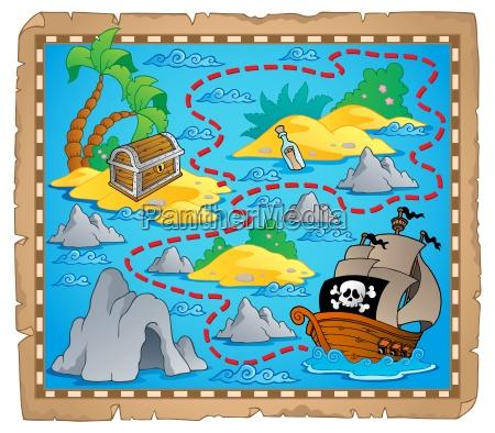 treasure map theme image 3