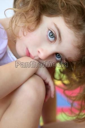 piekna mala dziewczyna student portret