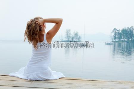 relaks przy wodzie
