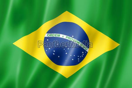 flaga bandera wlokienniczy tekstylia brazylia satyna