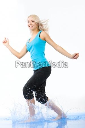 energetic female
