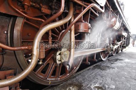 kolej lok pociag parowoz lokomotywy pojazd