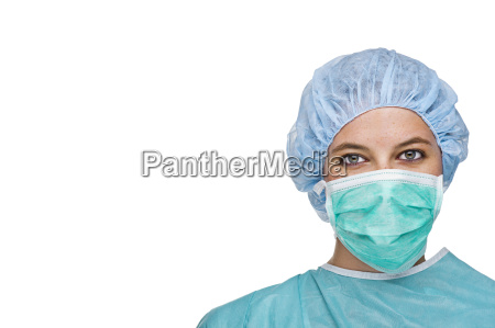 op lekarz z odzieza ochronna
