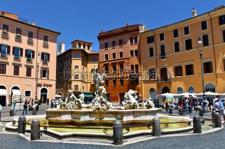 domy atrakcje rzym roma plac studnia