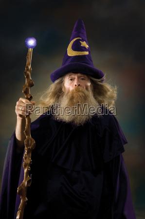 portret czarodzieja