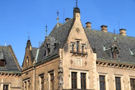 architektura historyczna w pradze