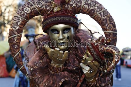karnawal kostium maskarada maseczka maska venezia