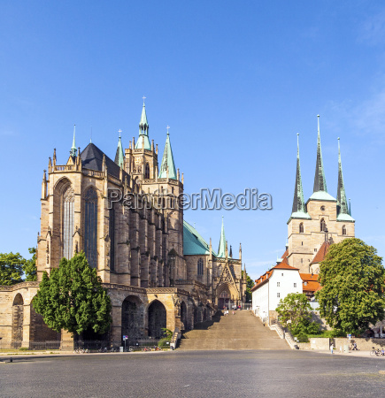 dome hill of erfurt germany