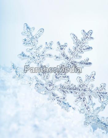 tlo sniezynka