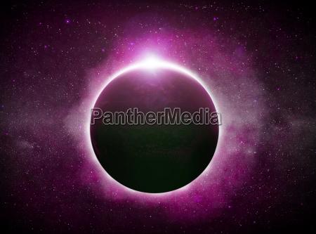 eclipse na ziemi