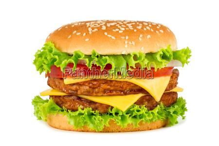podwojny cheeseburger