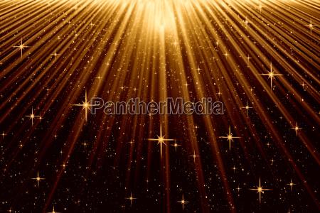 nastrojowy tlo z promieniami i gwiazdami
