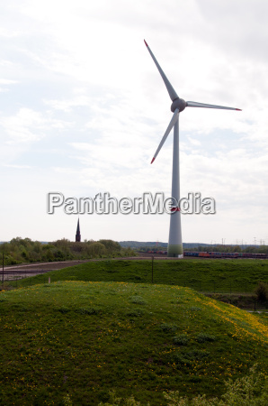 przyroda srodowisko zielony energia elektrycznosc prad
