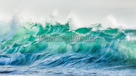 fala wybrzeze surf surfowanie turkus fali