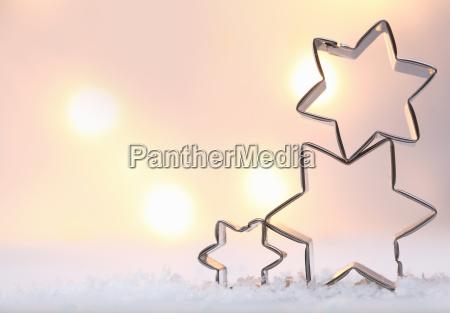 atmosferyczne christmas star tle