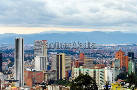 bogota kolumbia skyline