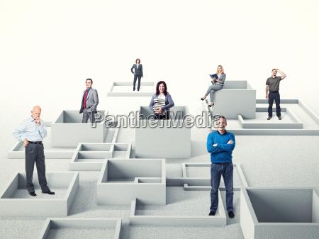 ludzie, biznesu - 9243342