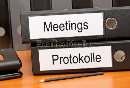 meetings, und, protokolle - 9300928