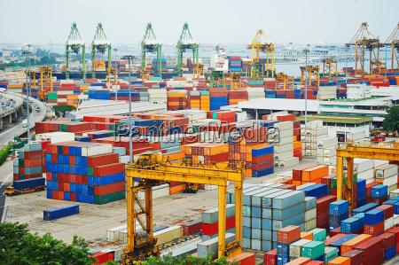port w singapurze